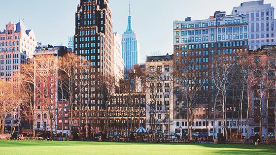 Bryant Park in New York