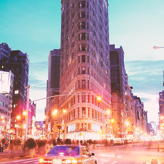 NYC's historic Flatiron Building