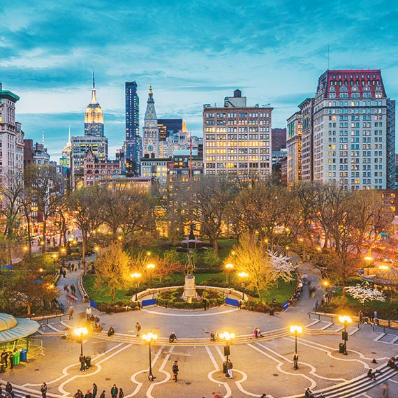 Union Square in New York City