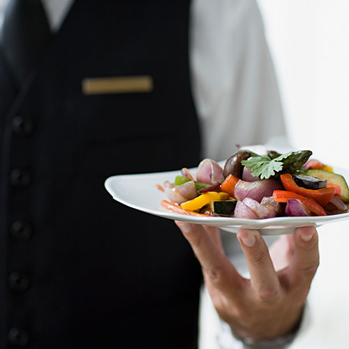 Does The Evelyn offer room service?