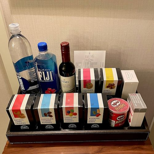 Do rooms offer a mini-bar?