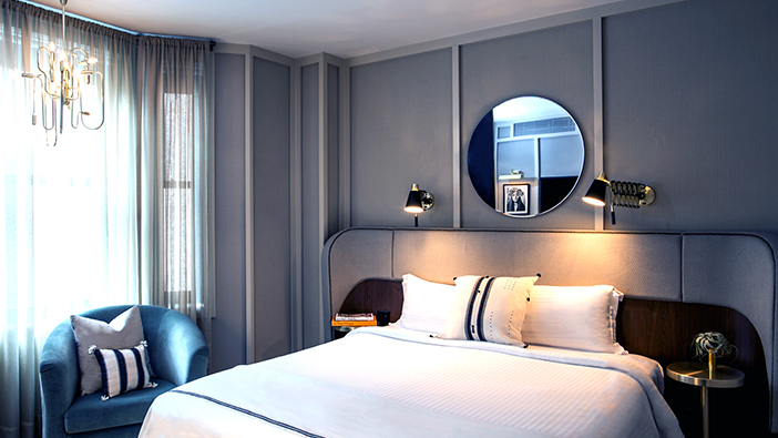 The Evelyn Hotel, New York offers Deluxe King Room