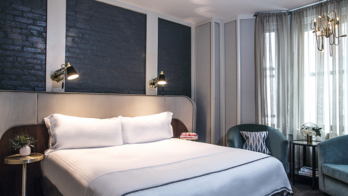The Evelyn Hotel, New York Executive King Suite