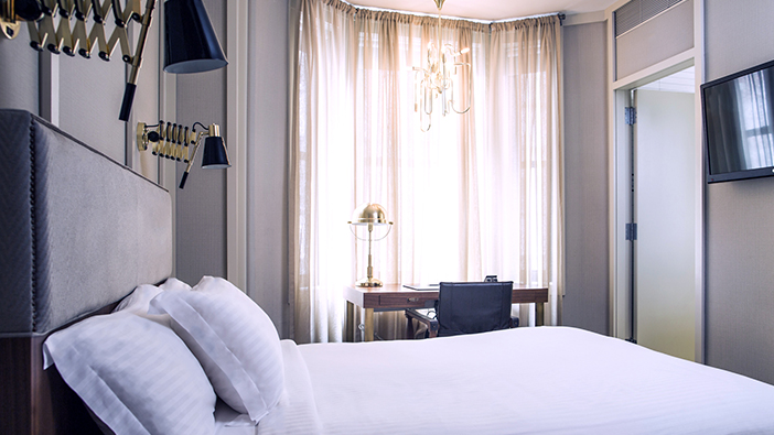 Superior Queen Room in The Evelyn Hotel, New York