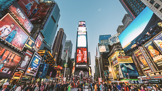 Times Square & Rockefeller Center Tours offered in New York Hotel